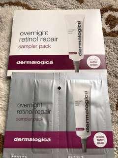 Dermalogica overnight retinol repair sampler pack $40