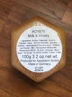MILK & HONEY Natural Soap from Germany