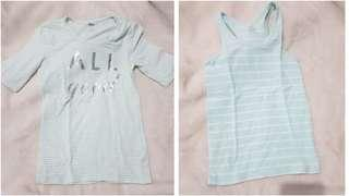 Bundle of 2 Old Navy Striped Tops M 8