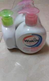 原價$49.9 (現賣$38)= Walch 洗手液(2支加送補充裝)