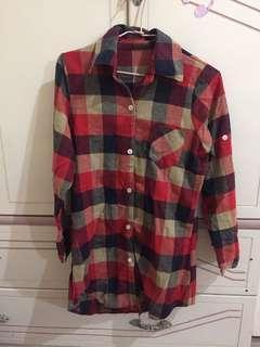 格子襯衫 #半價衣服市集