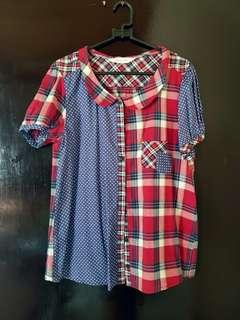 Mix Pattern Shirt
