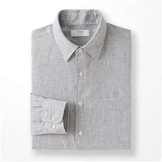 Uniqlo灰色襯衫 #半價衣服市集