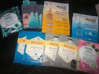 16X facemasks brand new