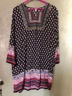 Bangkok long blouse