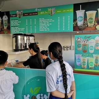 POS for milk tea shop, fnb and retail shops