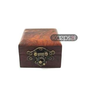 High Quality Wooden Ring Box (Qing Box)