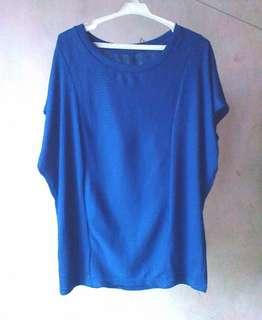 Free Size Blue Top