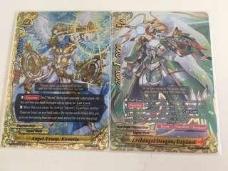 Buddyfight archangel dragon raphael n angel troop exousia