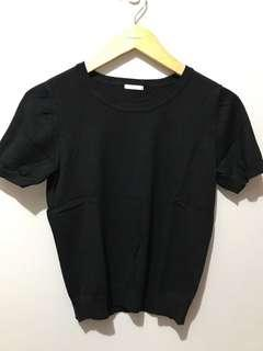 Black Top knit merk GU size L