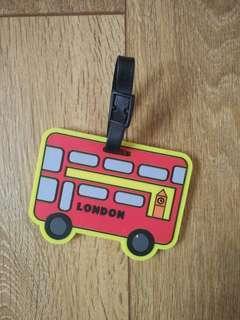 🚚 倫敦公車行李吊牌  #半價居家拍賣會
