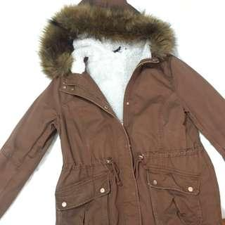 Brown Fur Parka