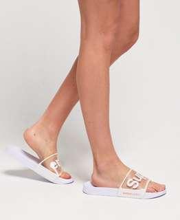🚚 Superdry slider flip flops
