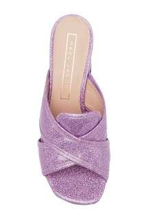 Marc Jacobs Aurora glittered patent-leather mules sandals mmj 女裝涼鞋 高跟鞋