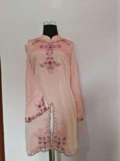Mididress pink