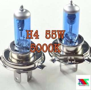 H4 5000k halogen bulbs