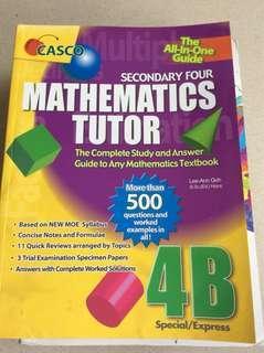 Casco mathematics tutor 4b