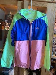 Adidas 薄風褸 jacket zip up