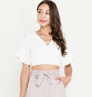 🚚 SSD Gertie top in white