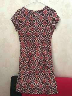 Dress batik body slim eprise original jual murah