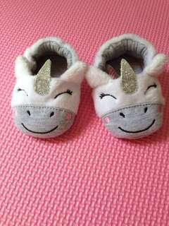 Unicorn Crib Shoes
