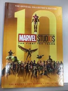 全新Marvel Studios The First Ten Years Official Collector's Edition 電影畫冊硬皮珍藏版