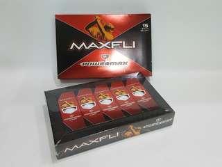 MAXFLI PowerMax Distance Golf Balls Set 15 Each