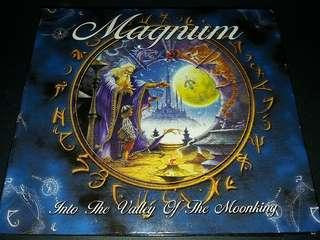 🚚 Magnum (into the valley of the moonking) cd/dvd rock