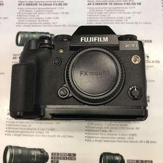 Fujifilm X-T1 with Metal Grip
