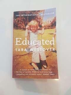 🚚 Educated by Tara Westover : The Sunday Times and New York Times bestselling memoir