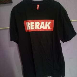 Tshirt BERAK Ori100%