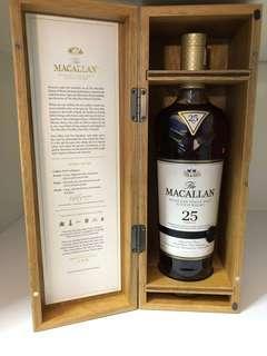 Macallan 25 Sherry Oak (2018 Edition)