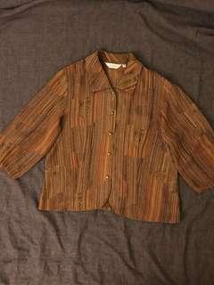 🚚 復古短版襯衫