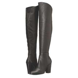 Nordstrom Steve Madden over the knee leather boots