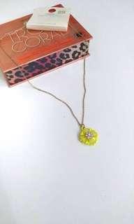 Floral Ceramic Necklace