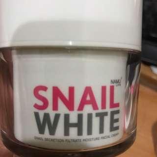 snail white moisture facial cream