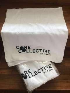 4 x CORE COLLECTIVE Microfiber Sports Towels