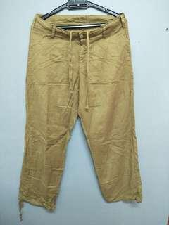 Sun valley japanese style ankle pants muji