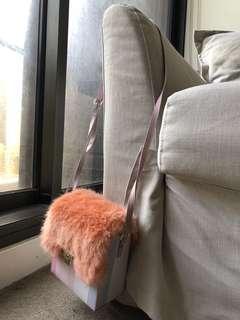 Faux Fur Sling Bag