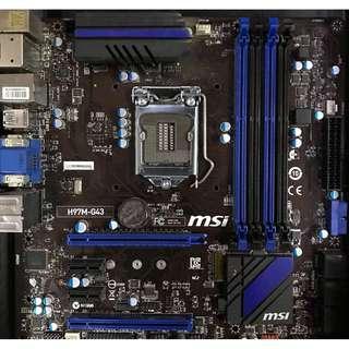 MSI H97M-G43 (Socket 1150)