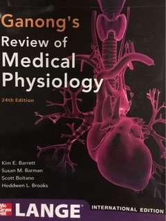 🚚 Ganong's Review of Medical Physiology