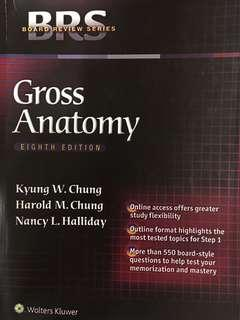🚚 Board Review Series - Gross Anatomy