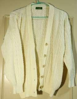 🚚 限時特價🎈白色開襟針織外套