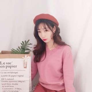 粉色 冷衫