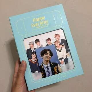 BTS Japan Official Fanmeeting Vol 4 DVD Happy Ever After with J-Hope Photocard