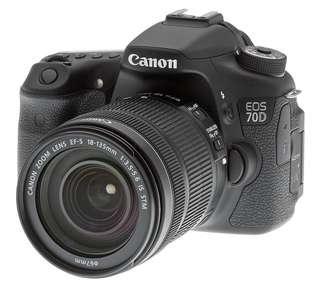 Canon EOS 70D Kit 18-55mm