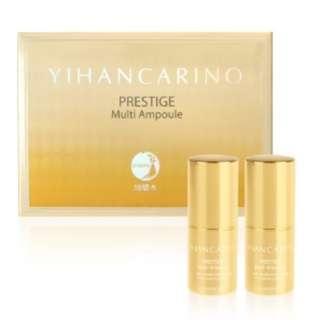 YIHAN CARINO Prestige Multi Ampoule 麗仁堂極緻活膚再生安瓶 精華 安白精華