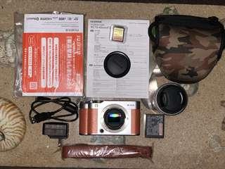 For Sale [Mirrorless] Fujifilm X-A5 XC-45mm F3.55-5.6 OIS PZ Brown Marron
