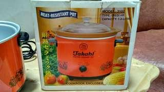 slow cooker takahi best used condition like new