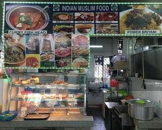 Indian Food stall @ Bedok Coffeeshop